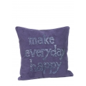 """Coussin 50*50 cm """"MEH"""" Toile"""