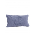 "Coussin 35*60 ""MEH"" Velours"